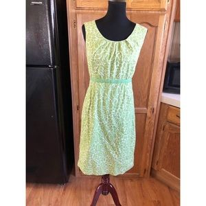Boden Lime Green Dress Size Large